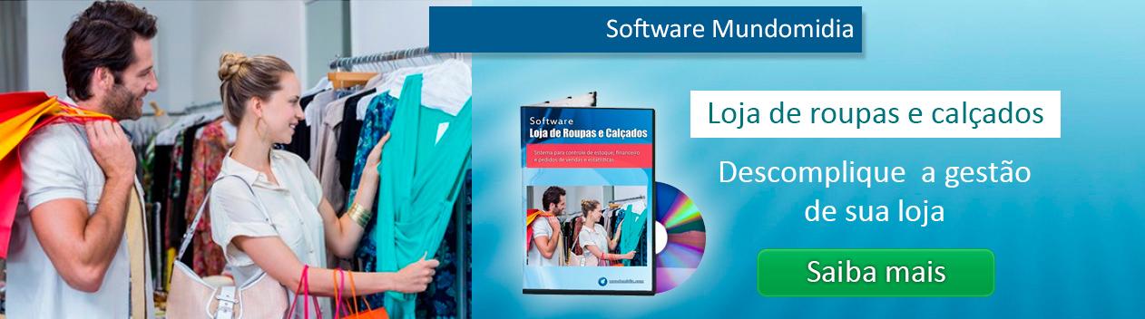 Software para controle de estoque e vendas