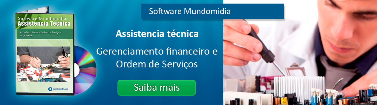 Software para assistencia tecnica de celulares