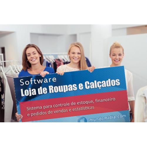 Software Loja de Roupas e Calçados