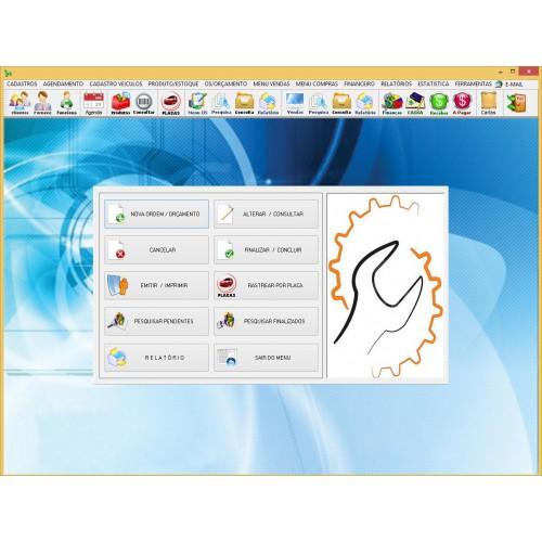Software Oficina Mecânica 1.0